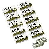 Astra Platinum Double Edge Safety Razor Blades, 50 Blades (10 x 5)