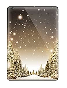 Hot XfAvKuG3058IVUIl Case Cover Protector For Ipad Air- Winter Desktop Background