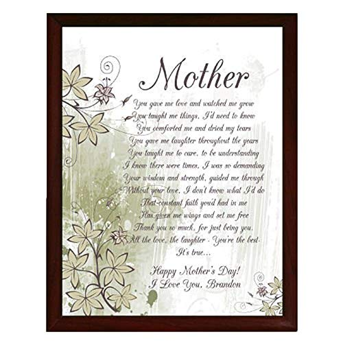 GiftsForYouNow to My Mother Personalized Printed Plaque, 8