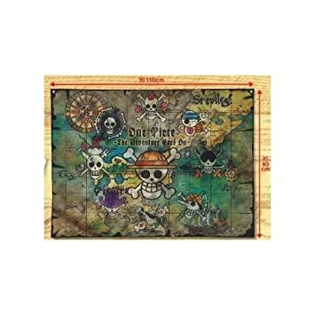 Amazon one piece the adventure goes on world map flag toys one piece the adventure goes on world map flag gumiabroncs Images