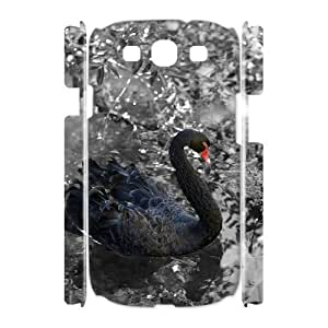 Case Of Swan Customized Hard Case For Samsung Galaxy S3 I9300
