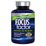 Cheap Focus Factor Extra Strength – Memory, Concentration & Focus – DMAE, Vitamin D, DHA, Bacopa & Much More – Trusted Clinically Tested Brain Health Supplement (120 Count)