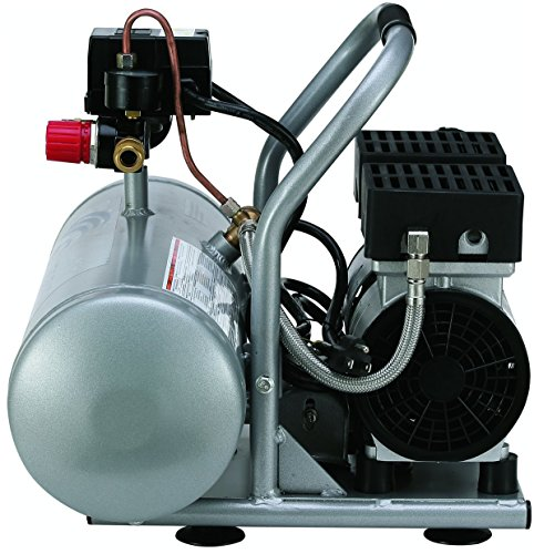 California Air Tools 2075A Ultra Quiet and Oil-Free 3/4 HP 2.0-Gallon Aluminum Tank Air Compressor