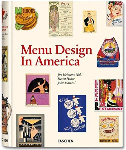 Menu Design in America, 1850–1985