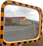 Outdoor Industrial Security Convex Mirror 24 inches X 32 inches,Heavy Duty,Made in Czech Republic