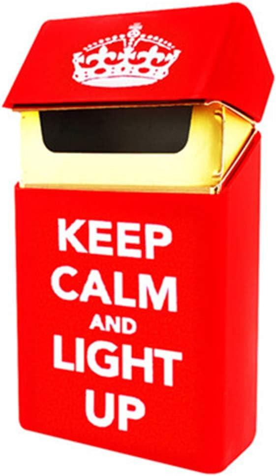 2.5cm 1 6 Porte Cigarette HAOAYOU /Étui /à Cigarettes en Silicone Housse de Mode /Élastique Portable Homme//Femme Cigarette Box Sleeve 9.5