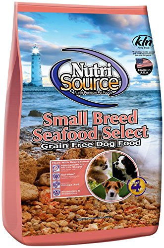 Nutri Source Small Breed Seafood Select GF Dog Food 15 lb