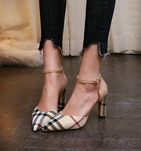 Zapatos De Mujer Modaelegantetranspirablesandalias 8cm Ajunr 1qw5EWBw