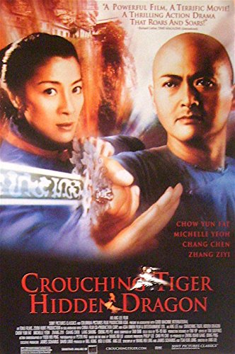 CROUCHING TIGER HIDDEN DRAGON POSTER Ang Lee Chow Yun Fat Rolled DBL-SIDED 1sht
