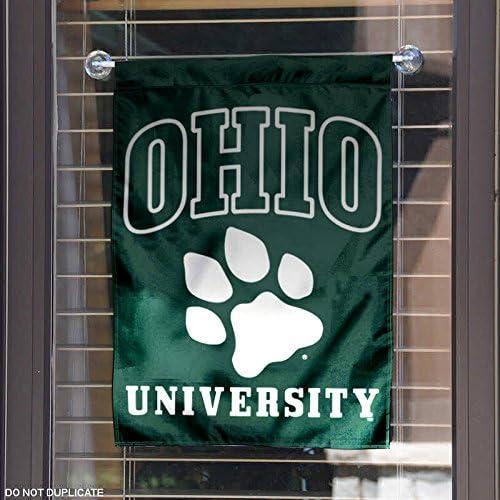 Ohio Bobcats Garden Flag and Yard Banner