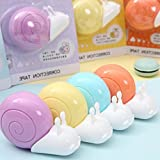 6pcs/set kawaii cute Cartoon Snail design correction tape for students school supplies