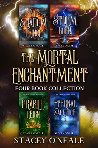"""""""A unique twist on elemental mythology. This series is not to be missed.""""Mortal Enchantment Complete 4-in-1 Box Set by Stacey O'Neale"""