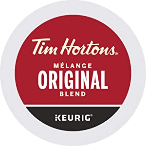 Tim Hortons Single Serve Coffee Original Blend K-Cup Pods for Keurig Coffee Makers (30 K-Cups)