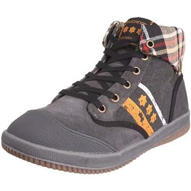 Rucanor - Zapatillas de deporte de lona para hombre, Negro