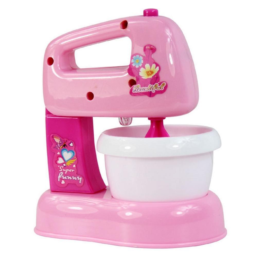 Pretend Play Toys, Efaster Simulation Home Utensils Kitchen Appliances Series Toys Mixer Machine