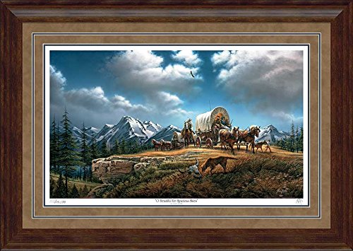 O Beautiful for Spacious Skies Framed Limited Edition Print by Terry Redlin