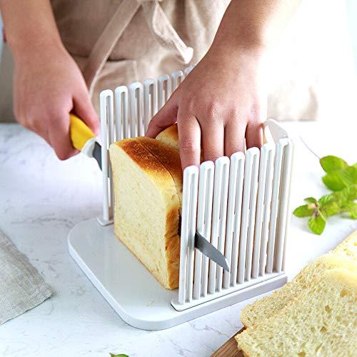 Aofocy Rebanadora de Pan Pro Kitchen Kitchen Que Corta la guía de ...