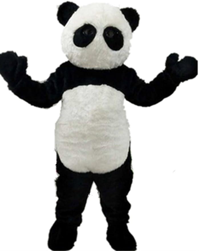 MascotShows Panda Cartoon Disfraz De Mascota con ventilador de ...