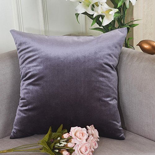 Home Brilliant Fall Square Decorative Accent Throw Pillow Cover Cushion Cover for Chair/ Bedroom, with Hidden Zipper, 18