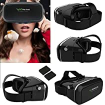 VR Headset Glasses,3D Virtual Reality Headset for Movies Video Games , Compatible with iPhone 7 Plus/ 7s/6s/6 plus/6/5s/5, Samsung Galaxy s5/s6/note4/note5 and Other 3.5
