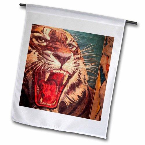 3dRose fl_89300_2 Florida, Sarasota, Ringling Museum, Circus Museum Us10 Wbi0588 Garden Flag, 18 by 27