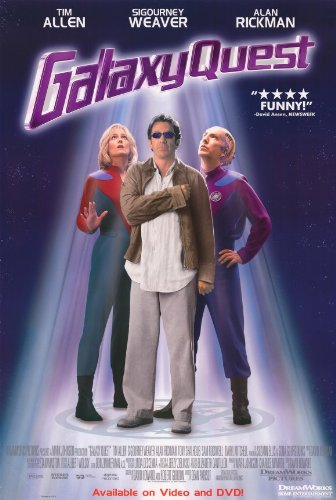 Galaxy Quest Poster Movie C 11x17 Tim Allen Sigourney Weaver Alan Rickman Tony Shalhoub