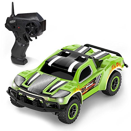 Remote Control Car – Mini Racing Coupe with Rechargeable Battery and Wall Charger
