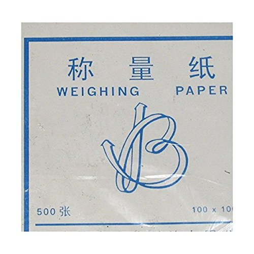 Non-stick Cellulose Weighing Paper 4x4 for Scale//balance Dish 500 Sheet Non-absorbent