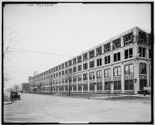Photo: Packard Motor Car Company Auto Plant,industrial - Black Froday Sales