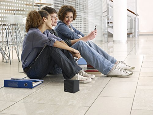 047532901368 - iHome Bluetooth Rechargeable Mini Speaker Cube - Black carousel main 3
