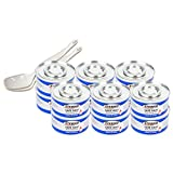 : Chafing Gel Dish Fuel 12 Cans (3.78 Oz) with Dishing Spoons Included - Long 2 Hours Burning Time for Heating Food or Meals | by Sterno