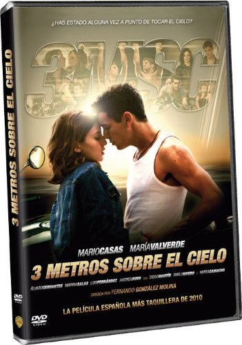 Three Meters Above The Sky Tres Metros Sobre El Cielo 3 Meters Above The Sky Non Usa Format Pal Reg 2 Import Spain Cristina Plazas Mar