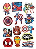Cartoon Anime Avengers Hero Stickers 50P...