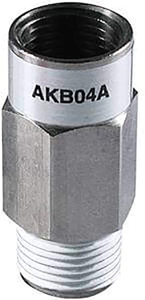 Valve; check; female to male thrd; 1//4Rw//sealant; bushing type Pack of 2