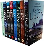 img - for Donna Leon A Guido Brunetti Mystery 8 Books Collection Pack Set RRP:   63.92 (Friends in High Places, Death in a Strange Country, Wilful Behaviour, A Sea of Troubles, Fatal Remedies, Doctored Evidence, Uniform Justice, Blood from a Stone) book / textbook / text book