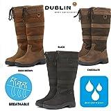 Dublin Women's River Tall Equestrian Boot Black 8.5 US