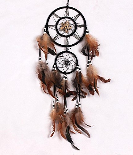 Dream Catcher Indian Style Feather Pendant Handmade Circular
