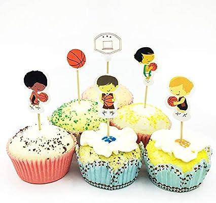 Decoración para tartas – 24 piezas para niños favoritos del ...
