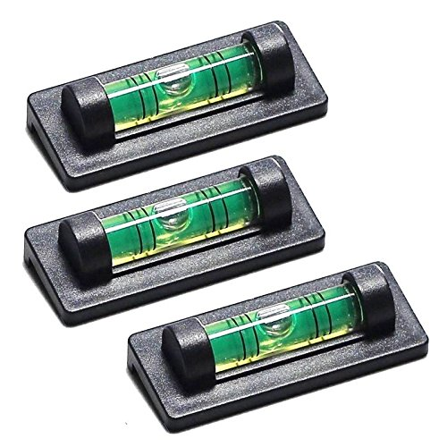 SODIAL(R) 3 Ridgeback Magnetic Magnet Bubble Spirit Level 23mm Vial Perfect for TV Mounts by SODIAL(R) (Image #3)