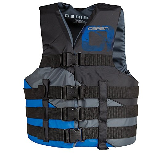 O'Brien 4 Belt Nylon Life Jacket Super Large (Vest 4 Buckle Mens)