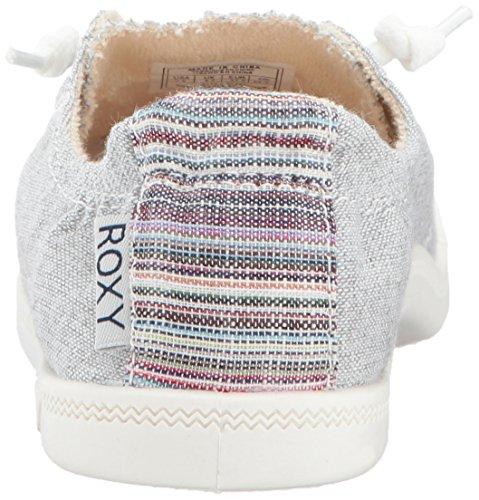 Scarpe Da Donna Roxy Rory Fashion Sneaker Grigio Cenere