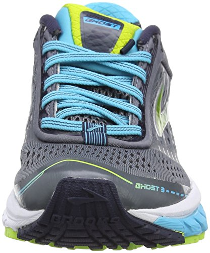 Mujer Zapatillas Blue Brooks Lime de 9 Ghost Multicolor Running para Silver 1q16HAYx