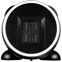 Miyaya 500W Portable heater Fan Heater space heater Desktop Heater with 2 Heat Settings, Cool Air Function & Adjustable Thermostat