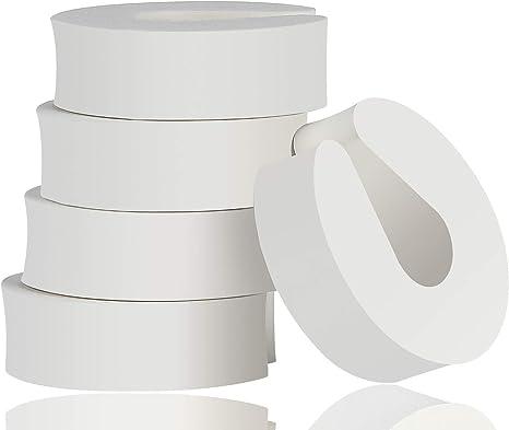 Paquete de 7 tapones de puerta de espuma de seguridad para beb/és protector de pellizcos para dedos de seguridad para beb/és,clip de puerta de seguridad para ni/ños de dise/ño animal