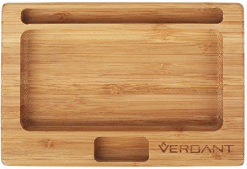 Verdant Smoke Bamboo Rolling Tray - Small 7.25