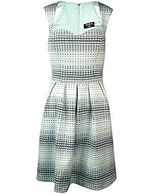 Guess Women's 'Georgia' Heart Dot Sweetheart Scuba Dress