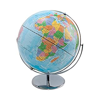 "ADVANTUS 12"" Desktop World Globe with Blue Oceans (30502) 2 PACK"