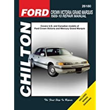 Chilton Ford Crown Victoria 1989 - 10 Repair Manual by Mihalyi Eric Michael/ Ryan Mark (2011-05-04)
