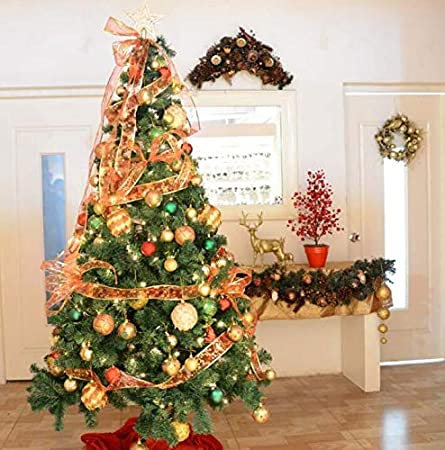 Ruban Pour Sapin De Noel YOIL Décorations pour Accessoires de Vacances créa Arbre de Noël