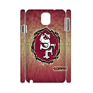 3D San Francisco 49ERS . Samsung Galaxy Note 3 Case, Case Sexyass {White}